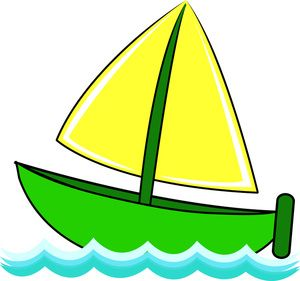 Boat clipart hd image black and white library cartoon boats images | Free Sailboat Clip Art Image - Cute Little ... image black and white library