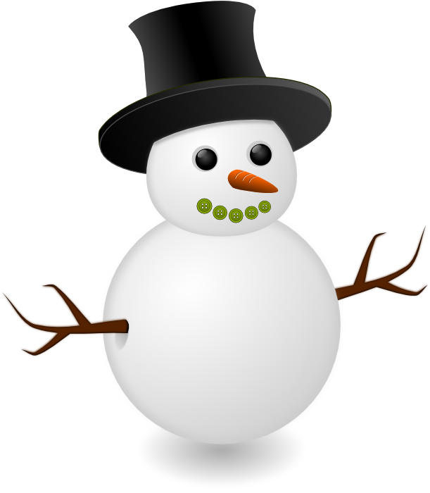 Snowflake snowman clipart clipart freeuse download Cute Snowman Graphics and Animations clipart freeuse download
