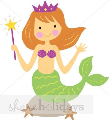 Adorable mermaid clipart clipart free free clip art mermaid | Mermaid Clipart | Party Clipart ... clipart free