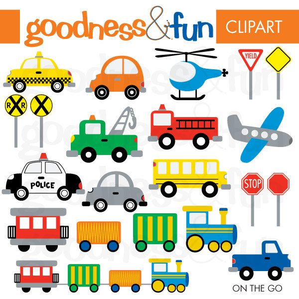 Adorable vehicle clipart banner library download Free download Free Transportation Vehicles Clipart for your creation ... banner library download