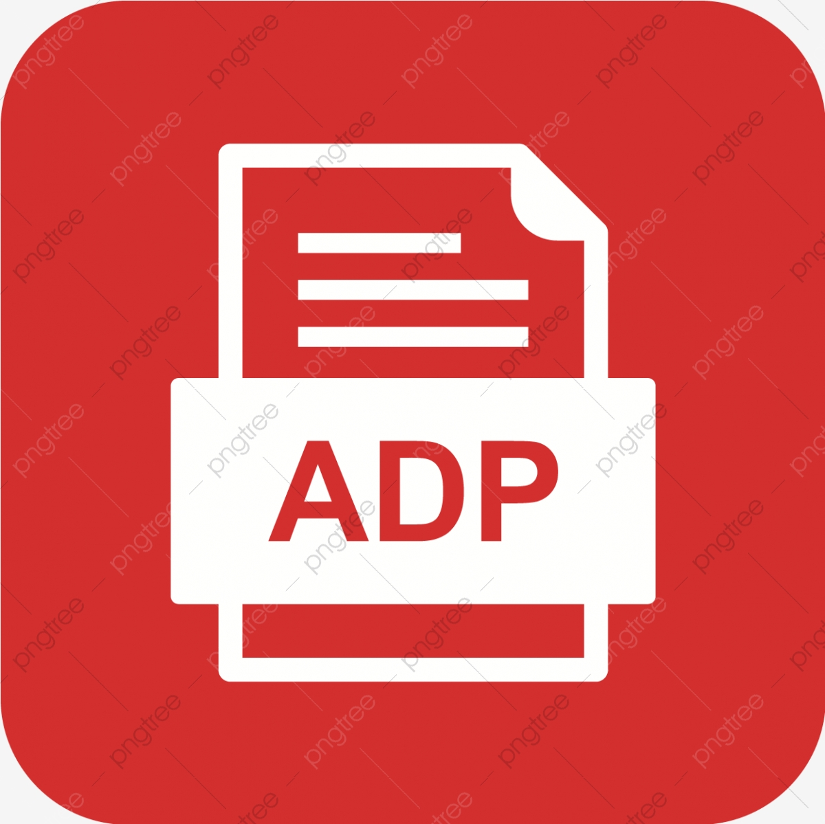 Adp File Document Icon, Adp, Document, File PNG and Vector with ... banner library stock