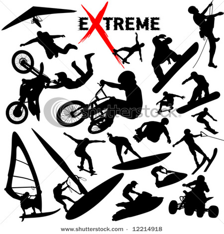 Adrenaline sports logo clipart royalty free download uwb2: Extreme sports royalty free download