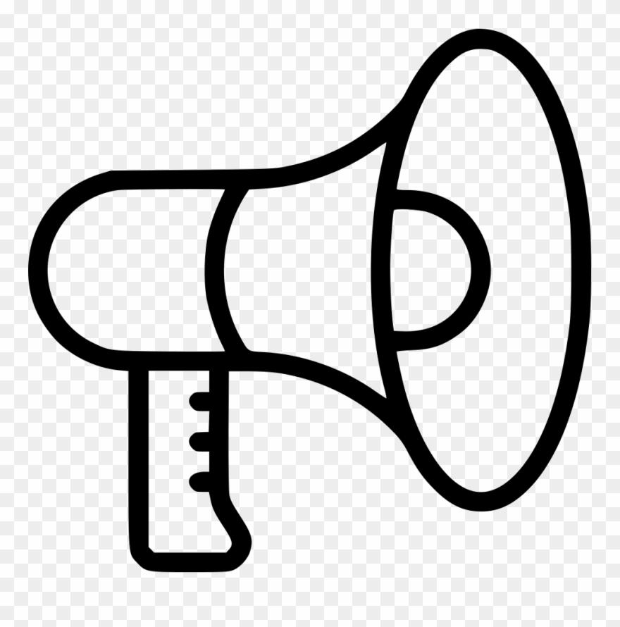 Advertising clipart black and white jpg black and white Graphic Transparent Stock Advertising Clipart Person - Speaker Line ... jpg black and white