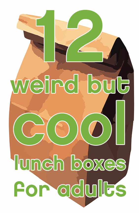 12 weird but cool lunch boxes for adults svg transparent stock