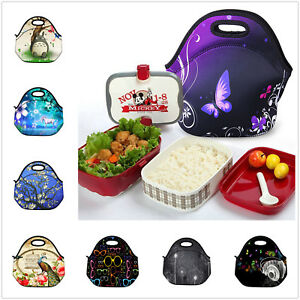 Details about Insulated Thermal Lunch Box Bag Cooler Handbag Picnic Bag for  Adults Kids School picture royalty free library