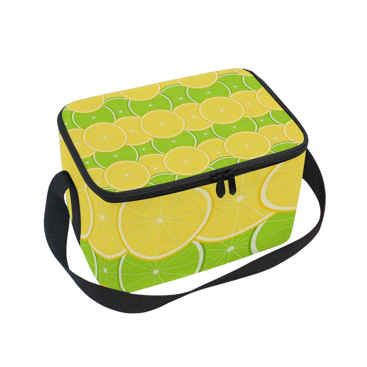 Amazon.com: Yellow Lemon And Lime Adult Lunch Box Lunch Insulated ... svg royalty free download