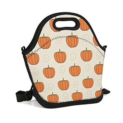 Amazon.com - Octayi Adult Lunch Box Insulated Lunch Bag Pumpkins ... graphic download