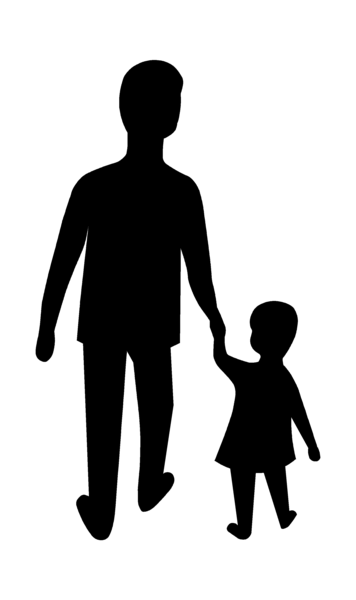 Free Adult And Child Clipart Image jpg free stock