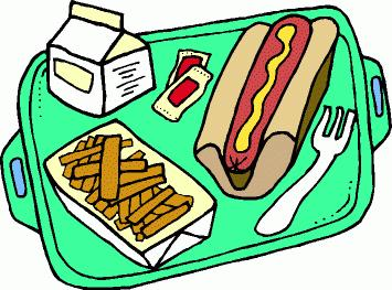 Where lunch clipart svg black and white stock Hot Lunch Clipart - Free Clipart svg black and white stock