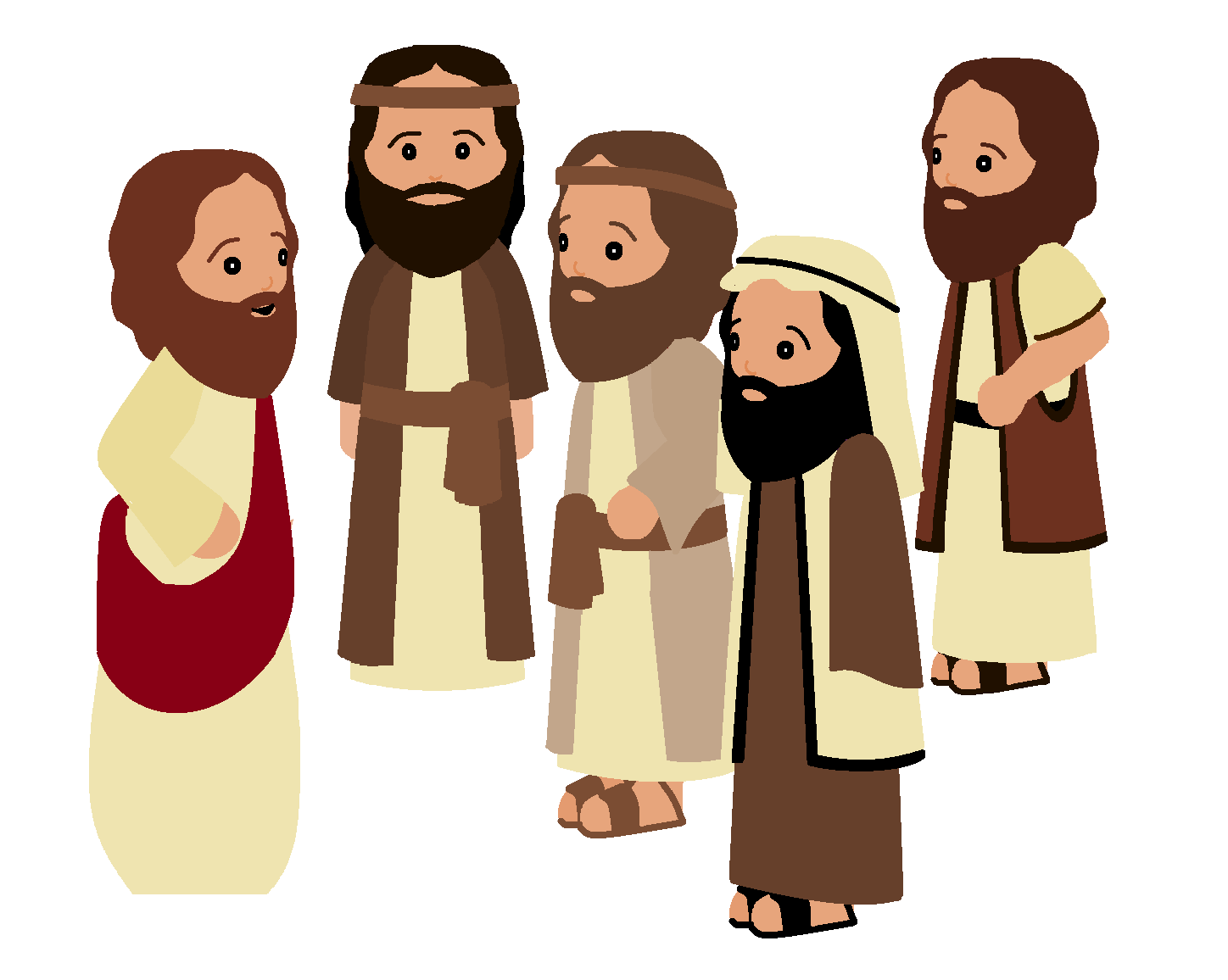 Adult disciples clipart banner transparent stock Free Disciple Face Cliparts, Download Free Clip Art, Free Clip Art ... banner transparent stock