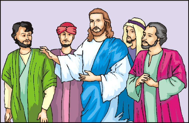 Adult disciples clipart clip transparent Talking About Jesus Disciples - Clip Art B #153982 - Clipartimage.com clip transparent