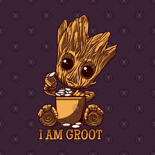 Adult groot clipart graphic freeuse download Cute Baby GROOT!! graphic freeuse download