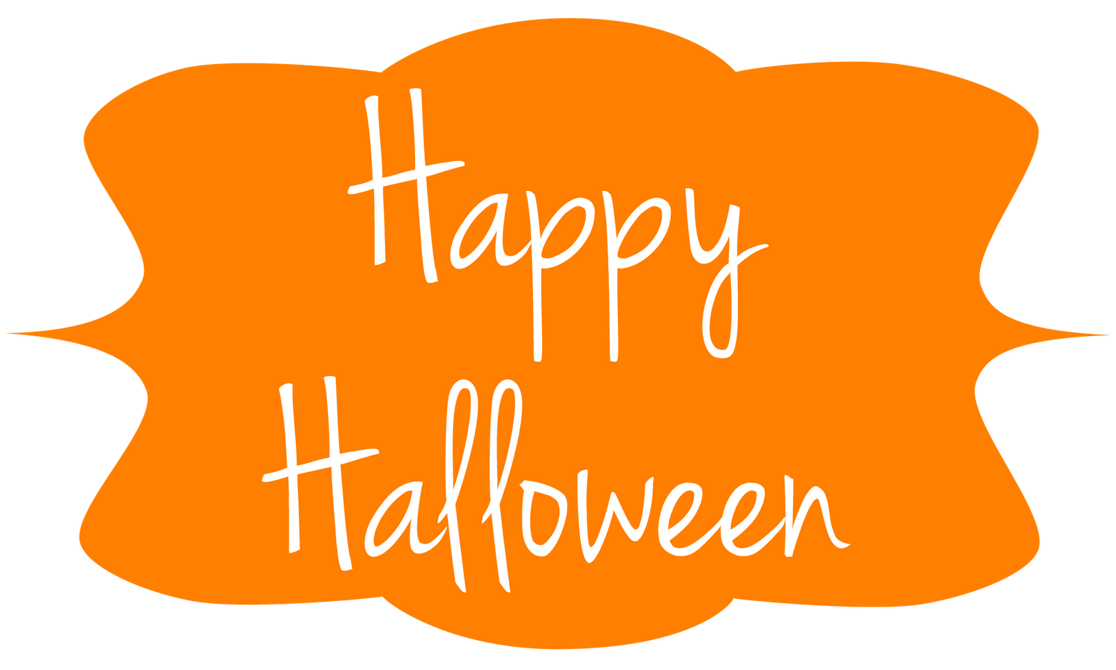 Happy halloween clipart black and white graphic royalty free library Happy Halloween Clipart | Best Ever Quotes And Images | Photo booth ... graphic royalty free library
