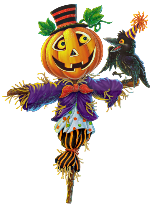 Primitive halloween clipart picture royalty free library Pumpkin Scarecrow PNG Clipart | Halloween ClipArt | Pinterest ... picture royalty free library