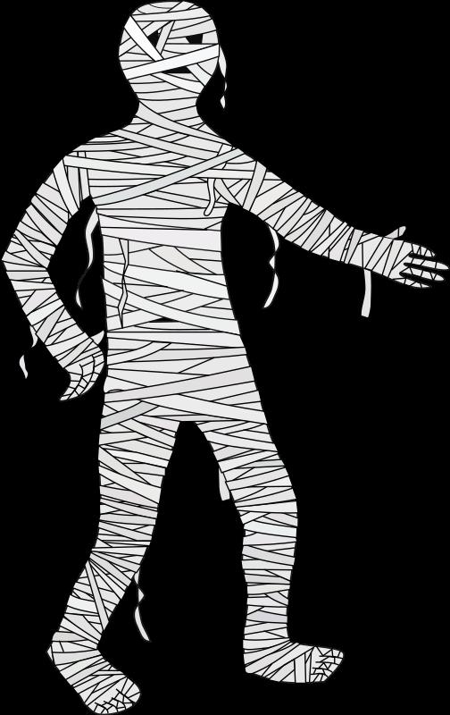 Halloween mummy clipart stock Clipart - Mummy stock