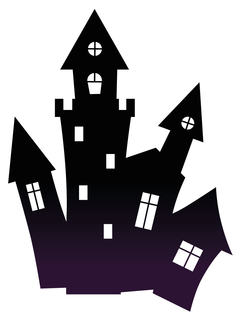 Haunted house clipart png clip art transparent stock Haunted House Halloween transparent PNG - StickPNG clip art transparent stock