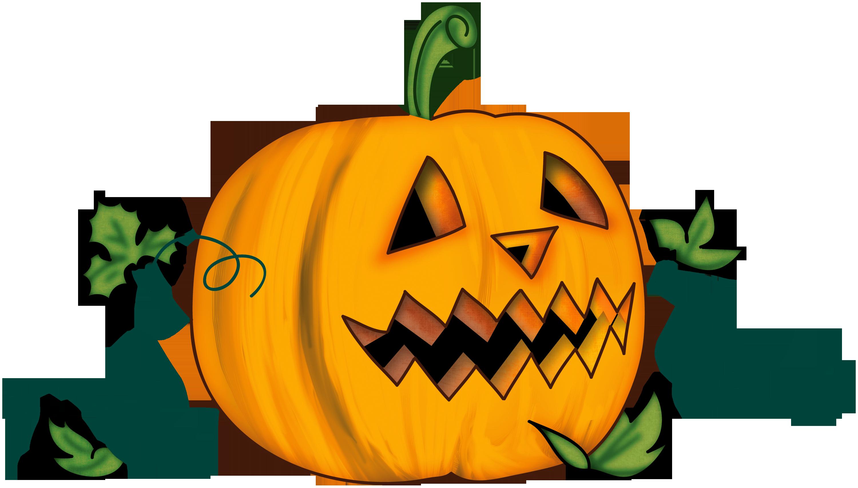 Clipart pumpkin door hanger picture freeuse library Transparent Halloween Clipart Halloween Pumpkin Clip Art | FALL ... picture freeuse library