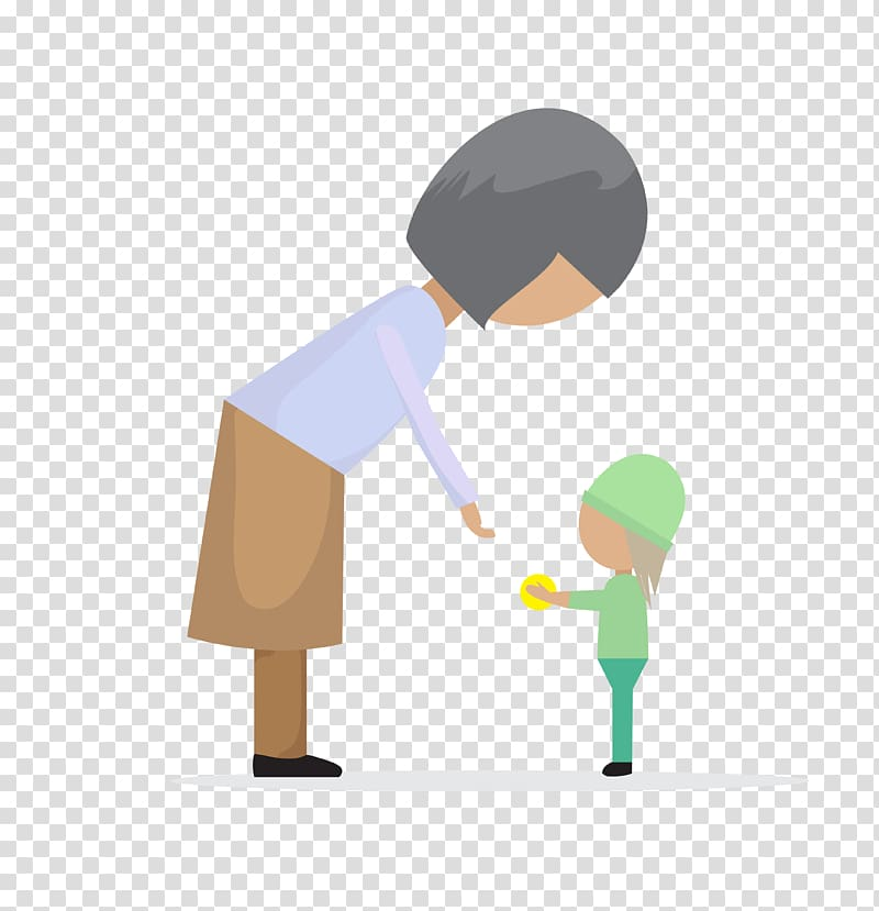 Adult kid handshake clipart image download Old age Child Euclidean , adult child transparent background PNG ... image download