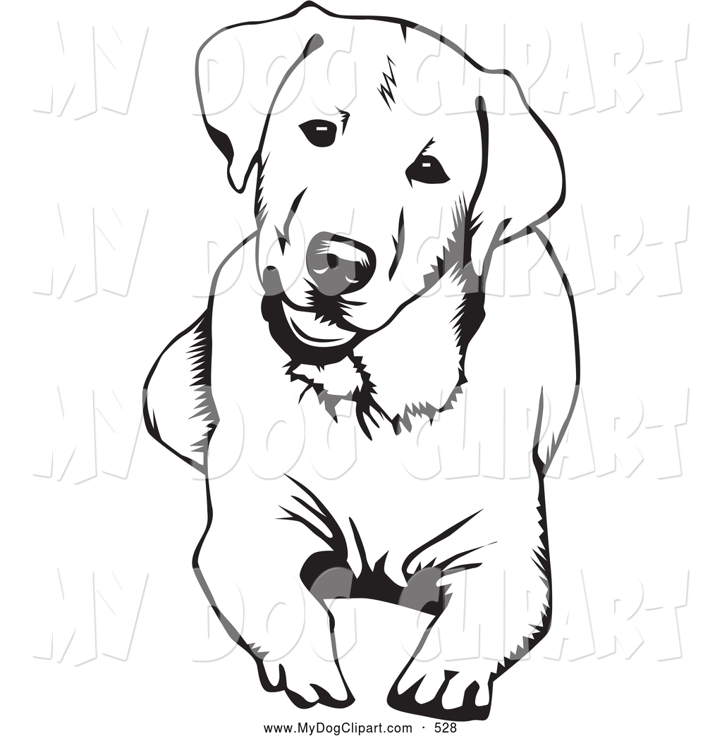 Cute happy dog clipart black and white image transparent 37+ Labrador Retriever Clip Art | ClipartLook image transparent
