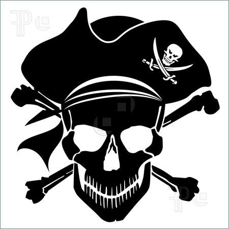 Adult pirate head clipart svg pirate clip art free printable | Illustration of Pirate Skull ... svg