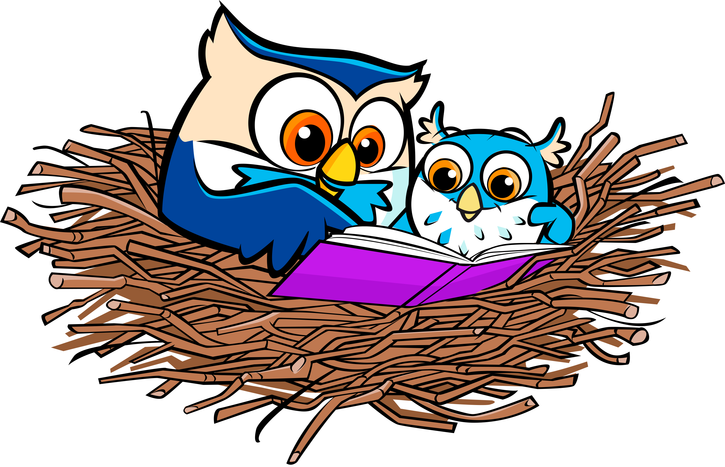 Owl reading book clipart black and white download 1,000 Books before Kindergarten - Lake Agassiz Regional Library black and white download