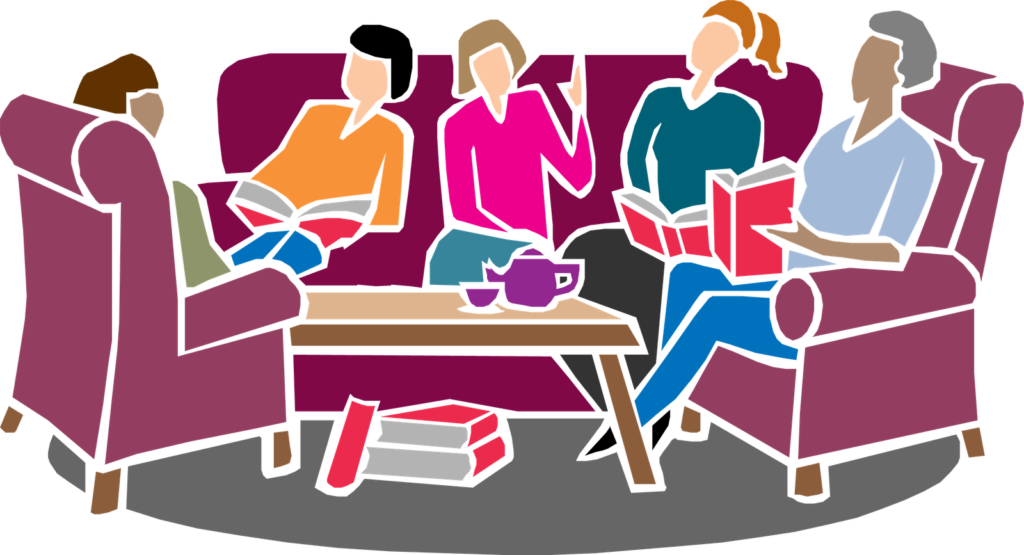 Book group clipart clip art freeuse library Events categories Adult Book Club : Peterborough Town Library clip art freeuse library
