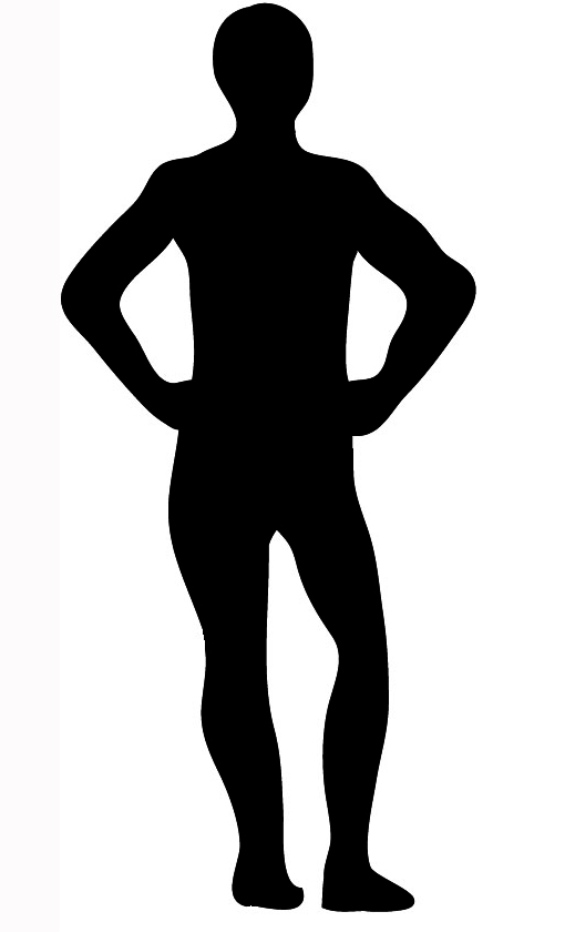 Body silhousette clipart download Body Silhouettes download
