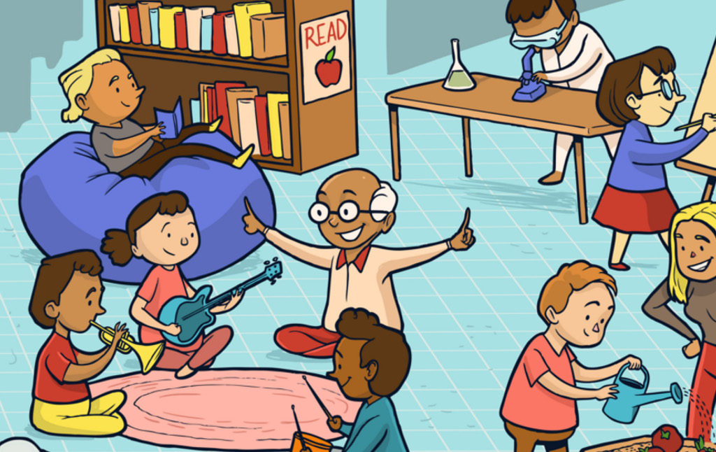 School kidsfinish line clipart clipart transparent library What Is Education For? | Current Affairs clipart transparent library