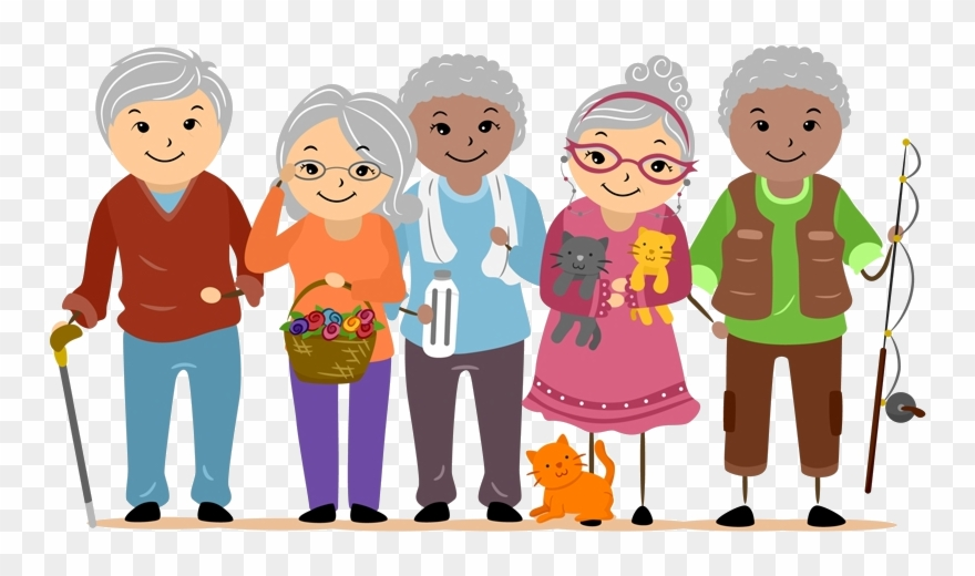 Clipart of adults library Senior Services - Older Adults Clip Art - Png Download (#922847 ... library