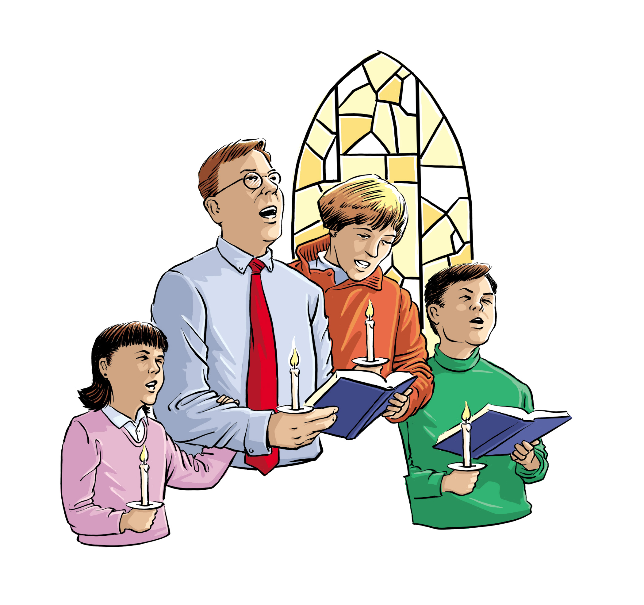 Families listening to preacher at church clipart clip library Pictures Of People Singing In Church | Free download best Pictures ... clip library