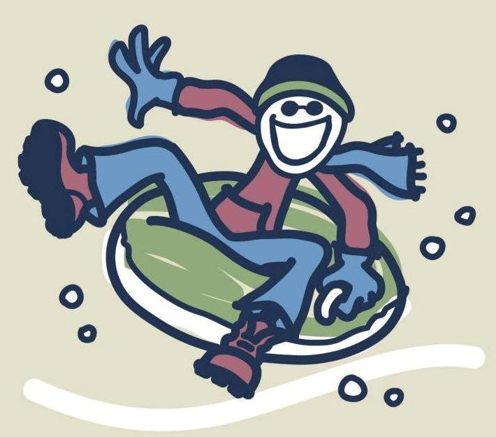 Adults snow tubing clipart vector free download Snow Tubing Clip Art Clipart - Clip Art Library vector free download
