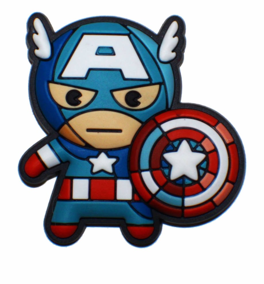 Advengeres clipart svg royalty free download Avengers Clipart Object - Marvel Kawaii Captain America, Transparent ... svg royalty free download