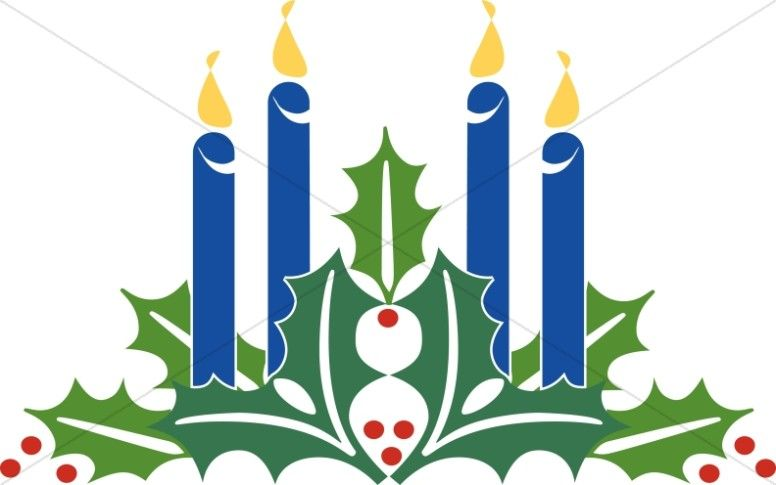 Wreath with candles clipart royalty free download Advent Candles Clipart Christmas   Church Banners   Advent symbols ... royalty free download