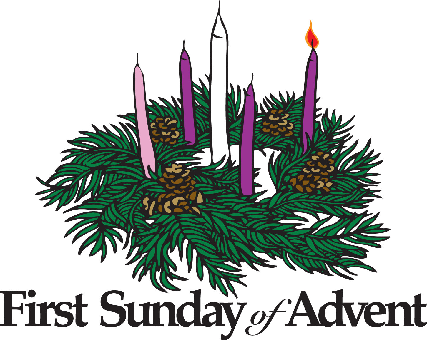 Third sunday in advent clipart svg library stock Free Advent Border Cliparts, Download Free Clip Art, Free Clip Art ... svg library stock