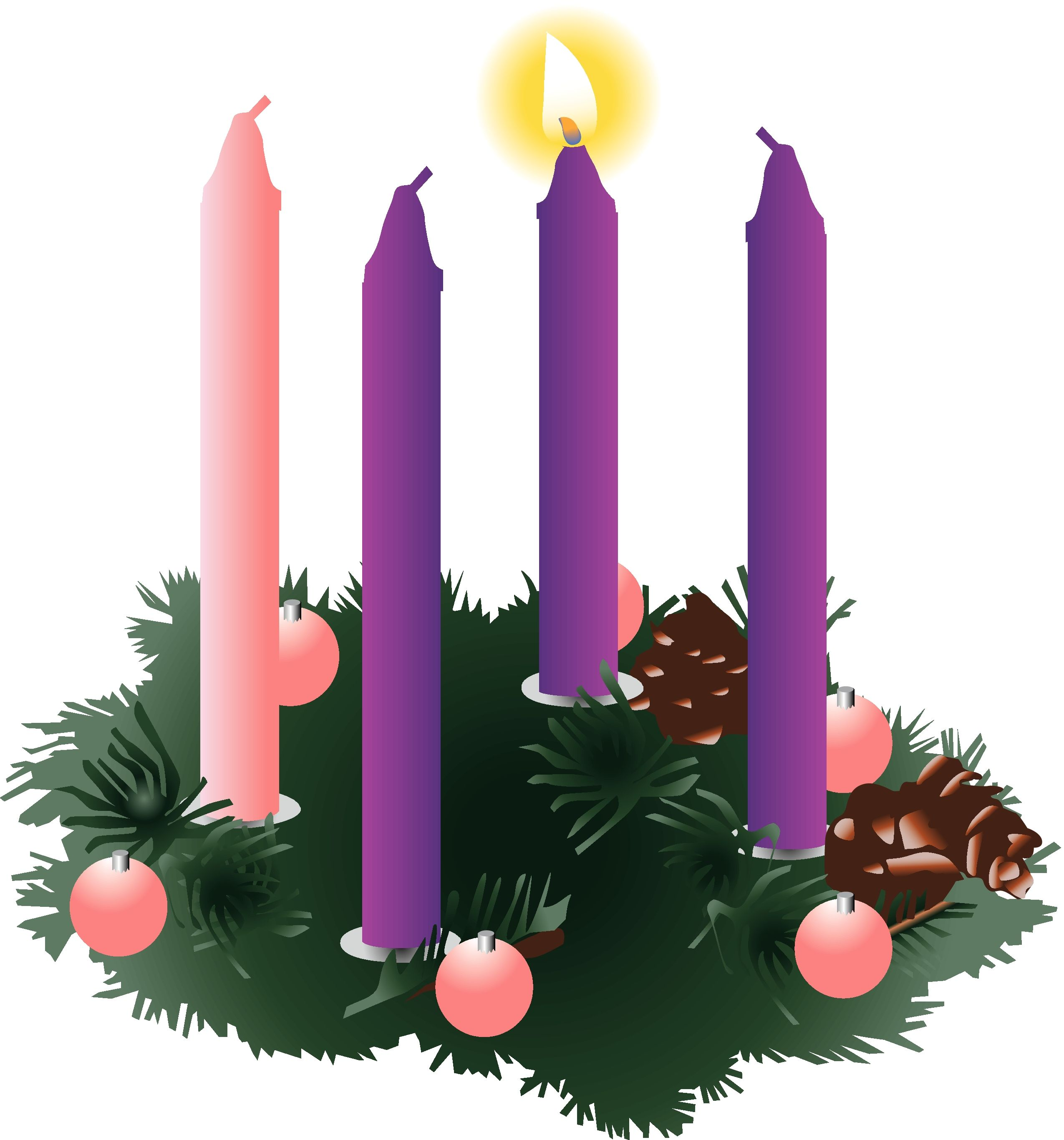 Free christian advent clipart png library download Religious Advent Clipart | Clipart Panda - Free Clipart Images ... png library download