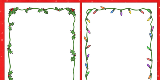 Advent border clipart banner free download Christmas Page Borders Xmas Happy Tree Advent Exclusive Boarders ... banner free download