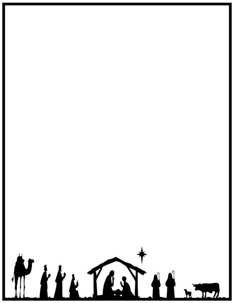 Advent border clipart vector library library Free Advent Border Cliparts, Download Free Clip Art, Free Clip Art ... vector library library