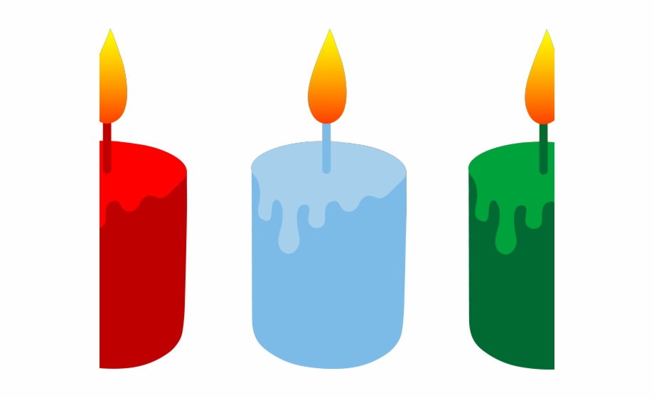 Advent burning candles clipart image freeuse library Candle Clipart Lit - Cartoon Candles Free PNG Images & Clipart ... image freeuse library