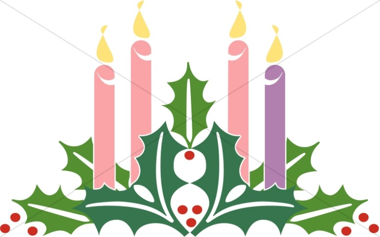 Advent burning candles clipart banner royalty free stock Christmas Candle Clipart | Free download best Christmas Candle ... banner royalty free stock