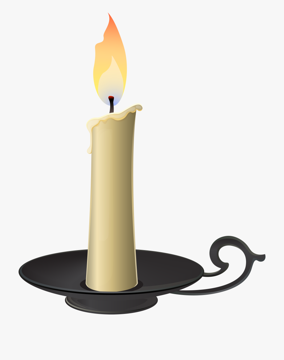 Advent burning candles clipart black and white library Candlestick Png Clip Art - Candle Clipart Transparent Background ... black and white library