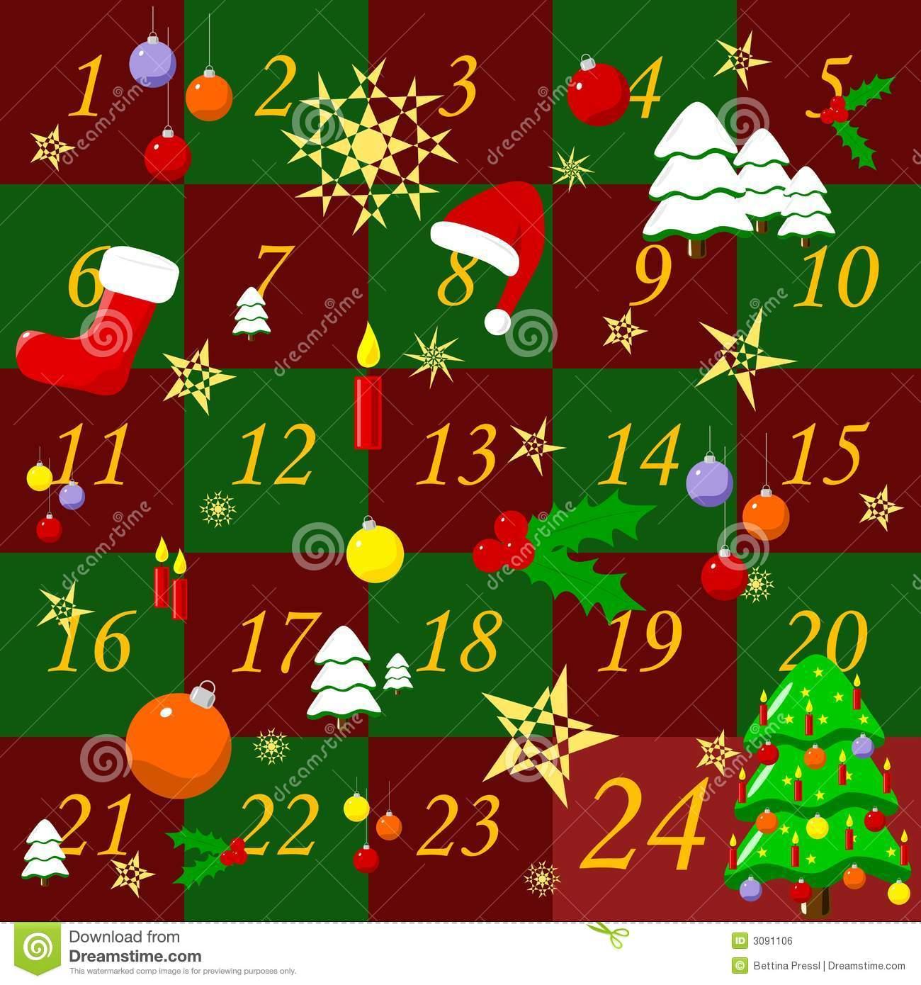 Advent calendar 2016 free clipart clip art transparent download Advent Calendar Clip Art | Calendar Template clip art transparent download