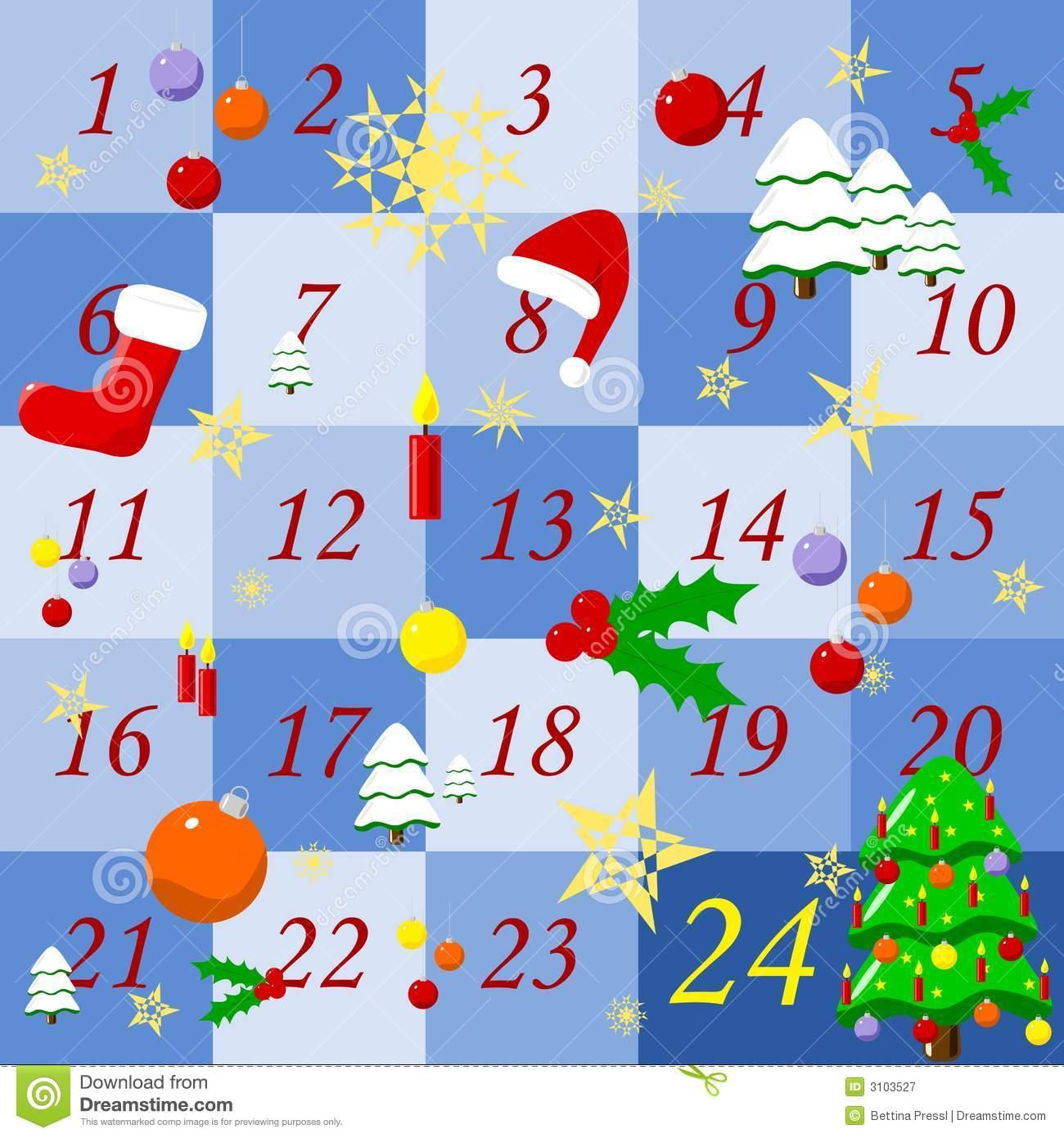 Advent calendar 2016 free clipart clip stock Advent calendar clipart free - ClipartFest clip stock