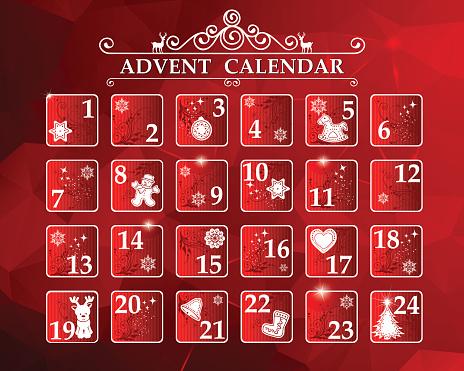 Advent calendar 2016 free clipart clip transparent stock Clip Art, Vector Images & Illustrations - iStock clip transparent stock