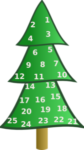 Homemade Advent Calendar For Stickers Clip Art at Clker.com ... banner download