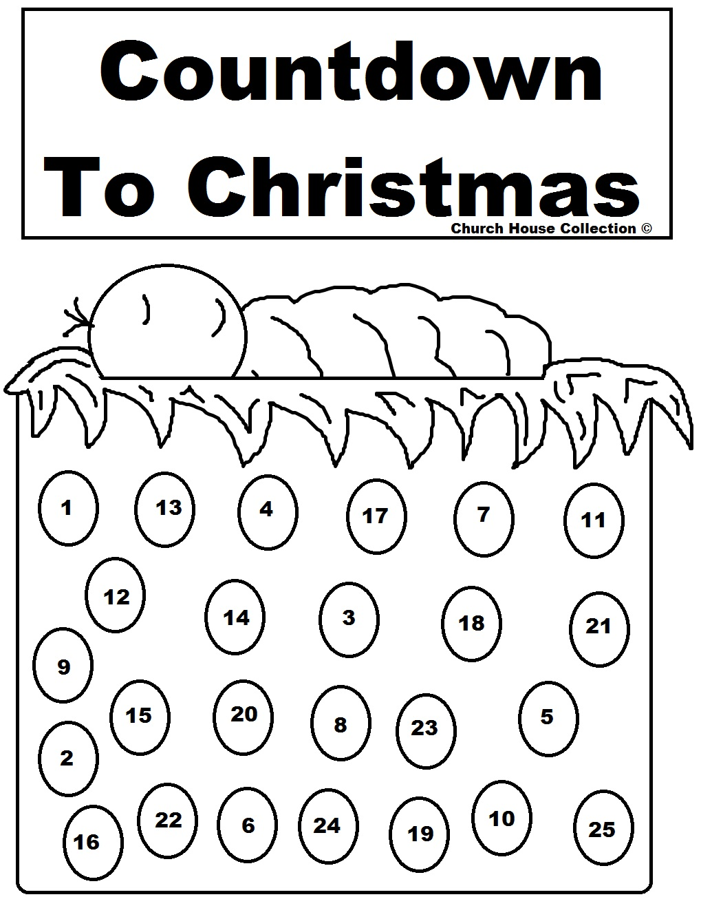 Free christmas advent calendar clipart - ClipartFest png stock