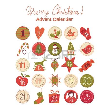 Advent calendar ornaments clipart svg 841 Advent Calendar Stock Vector Illustration And Royalty Free ... svg
