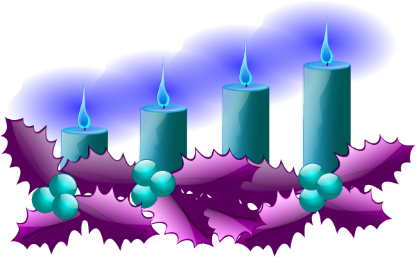 Fourth sunday of advent wreath clipart free vector download Advent candles clipart clipart images gallery for free download ... vector download