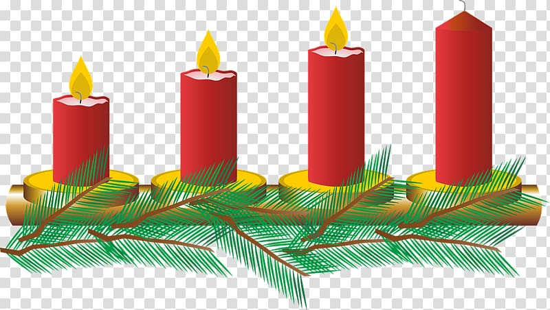 Advent candles clipart transparent png black and white stock Advent wreath Christmas ornament Gaudete Sunday , Advent Sunday ... png black and white stock
