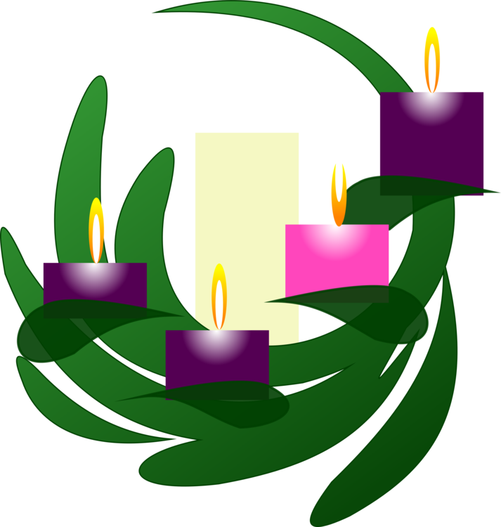 Free clipart advent candles image royalty free library Download Free png Clip Art Christmas Advent candle Advent wreath ... image royalty free library