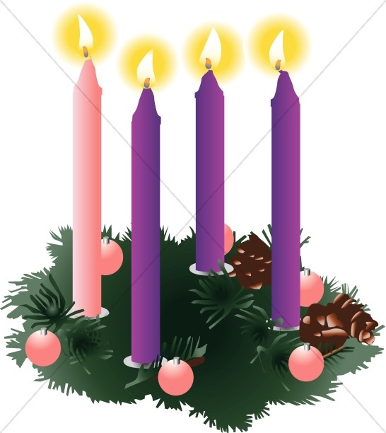 Advent clipart images clip freeuse Advent Candles Christian Cliparts | Advent Clipart clip freeuse